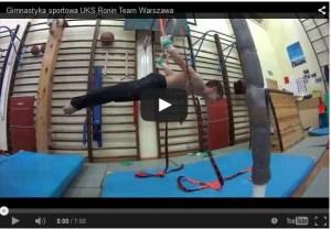 szkolenie z gimnastyki sportowej